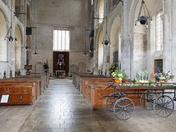 Inside Binham Priory Church
