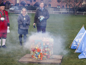 Harleston Marks Earth Day at the Equinox