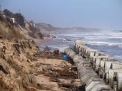 Hemsby Beach Damage