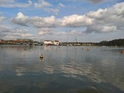 Woodbridge by the river Deben