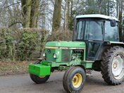 Palgrave Easter Sunday Charity Tractor Road Run