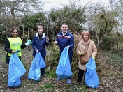 The Great British Spring Clean in Aldborough Hatch on Easter Saturday