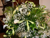 Easter Flowers at St. Peter's Aldborough Hatch