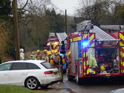 West Acre Chimney Fire