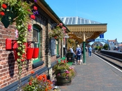 A Colourful Sheringham Station