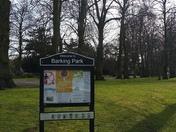 Spring arrives in Barking Park