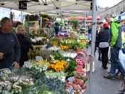 Spring comes to Columbia Road Flower Market