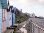 Cromer prom after the rain