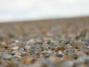 BOKEH. Beach Pebbles
