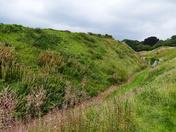 The Moat Around Castle Acre Castle