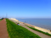 Glorious Gorleston bathed in sunshine