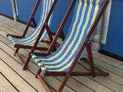 Stripes deckchairs