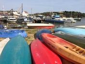 Boats at Woodbridge