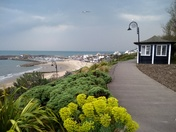 Storm coming at Lyme Regis