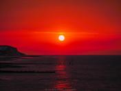 Gorgeous sunset over North Norfolk shot on Cromer Pier.