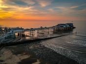 Sunset Over Cromer Pier.