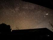 Lyrid meteor over Harleston
