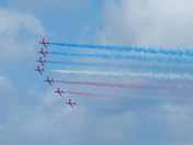 STRIPES .Red Arrows