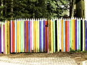 Stripes - fence