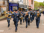 Bury St Edmunds Freedom Parade - Celebrating 100 years of the RAF