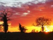 Sunset. (Vibrance challenge)