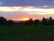 Sunset  at Rockbeare Manor