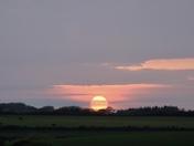 A Hartland Sunset