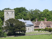 Blickling Church and the Old Rectory