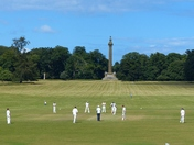 Holkham Hall, Beautiful Setting For A Game Of  Cricket