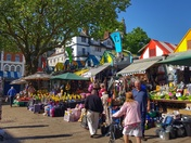 Norwich Market and St Michael at Plea