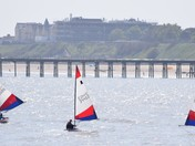 Sailing Off Lowestoft Today