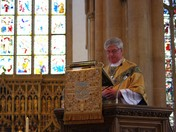 Bishop of Norwich Graham James at St Peter Mancroft church