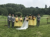 Wedding in yellow - phito challedge