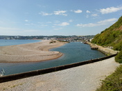 Axe River mouth / Seaton on a sunny May day