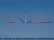 Red arrows vixen break at Torbay airshow
