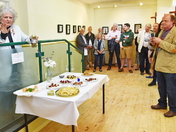 ART EXHIBITION opened by Famous Artist Maggi Hambling