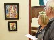Art Exhibition opened by Famous Suffolk Artist Maggi Hambling