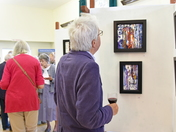 ART EXHIBITION SUPPORTING MARIE CURIE & FRIENDS opened by Maggi Hambling