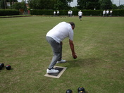 Visit from Lowestoft Blind Bowls team