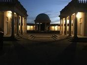 Eaton Park at night