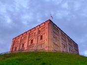 Norfolk landmark Norwich castle