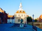 Norfolk landmark..Customs house