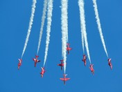 arrows return to Norwich Airport