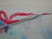 The Red Arrows at the Great Yarmouth Airshow 2018
