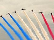 Red Arrows arrive at Great Yarmouth