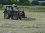 Making hay whilst the Sun shines.