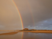 Norfolk Beaches: Brancaster Rainbow