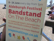 Aldeburgh Bandstand on the Beach