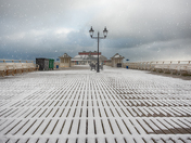 Snowtime on the Pier