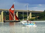 Orwell Bridge. Suffolk scenes.